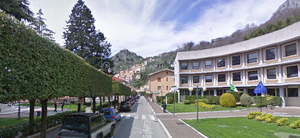 Viale Terlizzi e Municipio